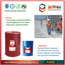 self-leveling highway surface gap sealant