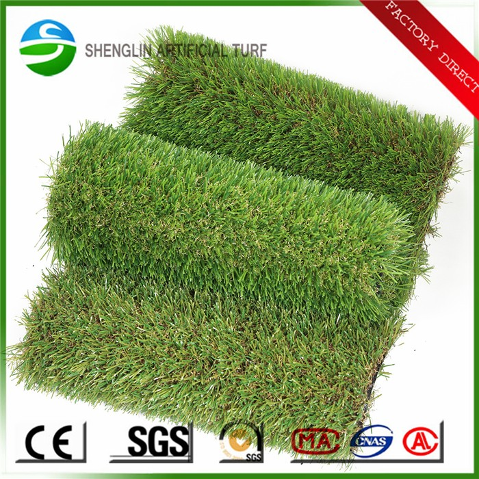 High density synthetic turf lawn plastic artificial grass car mat