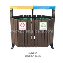 WPC flower box/dustbin /public facilities