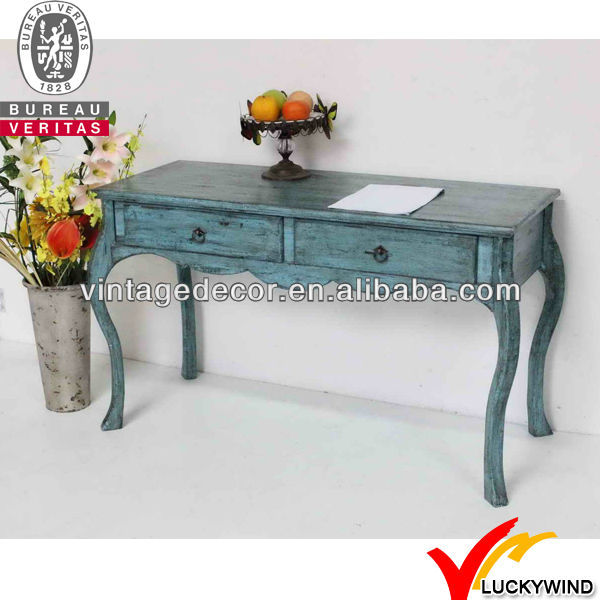 FSC Shabby Chic French Country Style Vintage Antique Wooden Console Tables