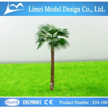 4.5cm/5.5cm/6cm/7cm/8cm ho scale trees / plastic model tree/miniature model trees for train railway