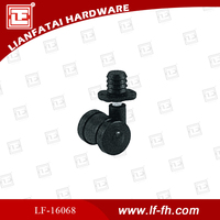 1''/1.5'' screw and with cap caster wheel of nylon from Lianfa