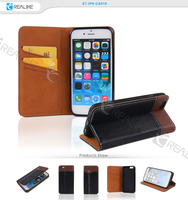 Fashion design cell phone for iphone 6 leather case cell phone