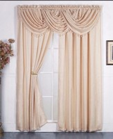 2016 New Design Wholesale Polyester Window Curtain Patterns From China