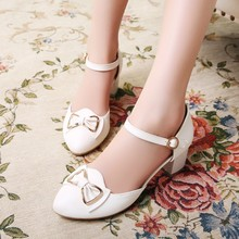 high quality ankle strap women wedding dress sandals shoes 2018 hot high heels shoes