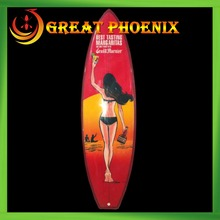 Cheap price OEM mini decorative surfboard