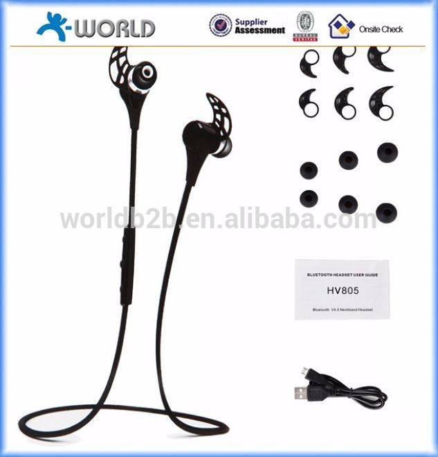 WBH-805 Handsfree stereo Bluetooth 4.0 smallest bluetooth headset