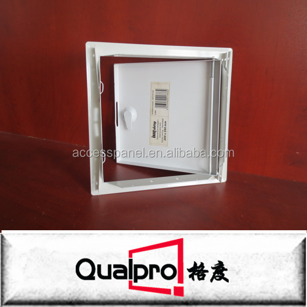 Nylon Key Operated Steel Access Panels/Decorative Wall Panels with Square Bolt Latch AP7010