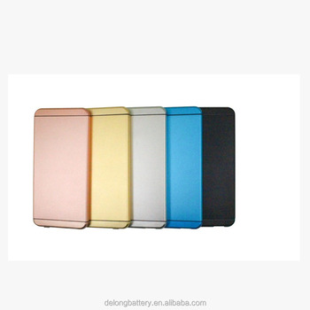 portable ultra thin quick charge 2.0 12v 5v 9v power bank with 5000mAh