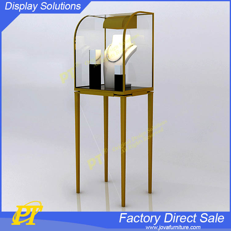 Luxury display rack for jewelry with led lighting for display cases for jewelry