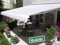 2015 popular half cassette awning, Mental frame toldos retractables for window CZCH-4030 B46