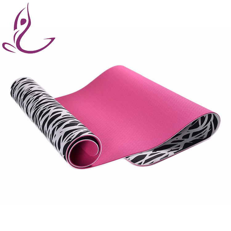 High resilient OEM factory price yoga & pilates type tpe yoga mat