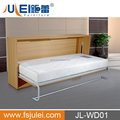 wooden metal pull down murphy wall bed invisible bed JL-WD01