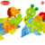 Onshine 2017 new design wood material color paint 3d animal puzzle kids educational toy