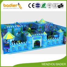 Castle theme kids indoor soft play areas playground equipment,play system structure for shopping mall games