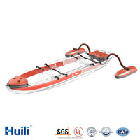 Huili Polycarbonate Transparent Kayak/ Clear Double Seats Canoe with Fashinable Design