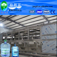Complete 5 Gallon pure Water bottling Machine /19L mineral water bottling equipment/bottled water making machine 1200 BPH
