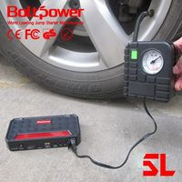 automobile starting power car battery jumper cables with with power bank tire inflation