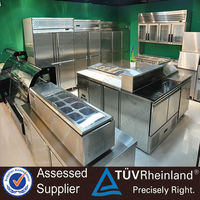 Customized Stainless Steel Snack Salad Bar /Restaurant Equipment