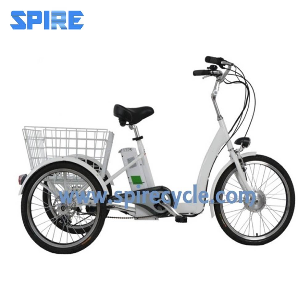 Electric adult tricycle transport e trike bike