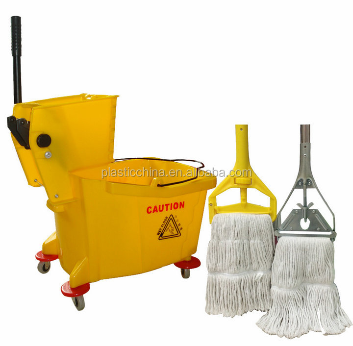 20/30/36/60L cleaning trolley, single mop bucket, plastic mop bucket