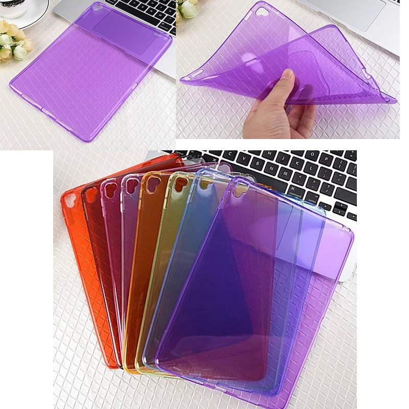2016 New Transparent Soft TPU clear cover case for ipad pro 9.7'' , for ipad pro case TPU