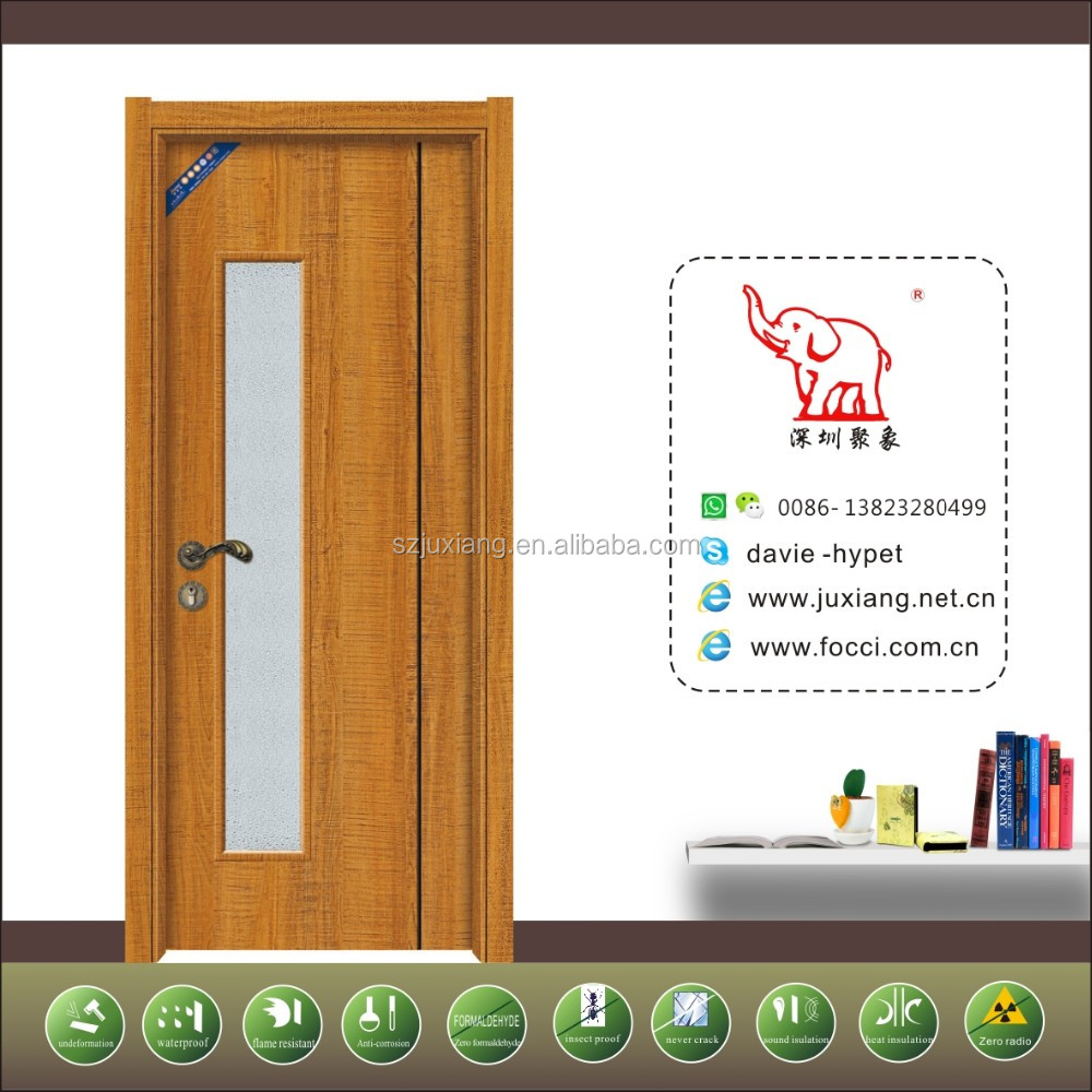 top quality low price shenzhen washroom/bathroom glass <strong>door</strong>