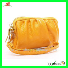 New Fashion Genuine Leather Bag Coin Purse Handbag Mobile Phone Bag