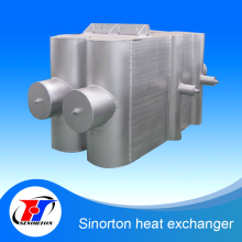 Brazed Aluminium Plate Fin multiflow heat exchanger for metal melting