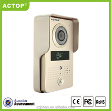 2015 new smart home ID card unlock ACTOP new wifi network video door phone wifi602A
