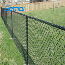best price gi residence chain link wire mesh fence for sale (ISO9001 )