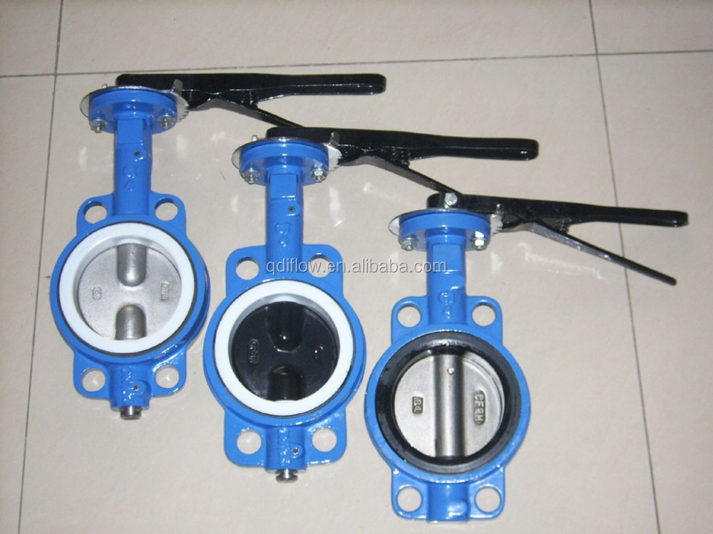 Semi Coated PTFE Lug Type Butterfly Valve