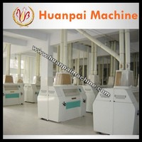 135tpd wheat flour processing machine flour grinder with factory price