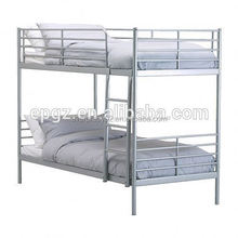 Africa metal double bunk bed,metal detachable bunk bed for home
