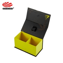 High Quality Hinged Cardboard Paper Magnetic Closure Perfume Gift Boxes