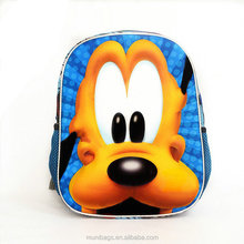 Children Boy Girl 3D Cartoon Animal Backpack School Bag Kindergarten