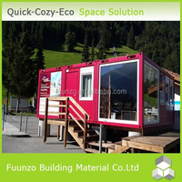 Modern Design Prefabricated Demountable Movable Fast Food Shop