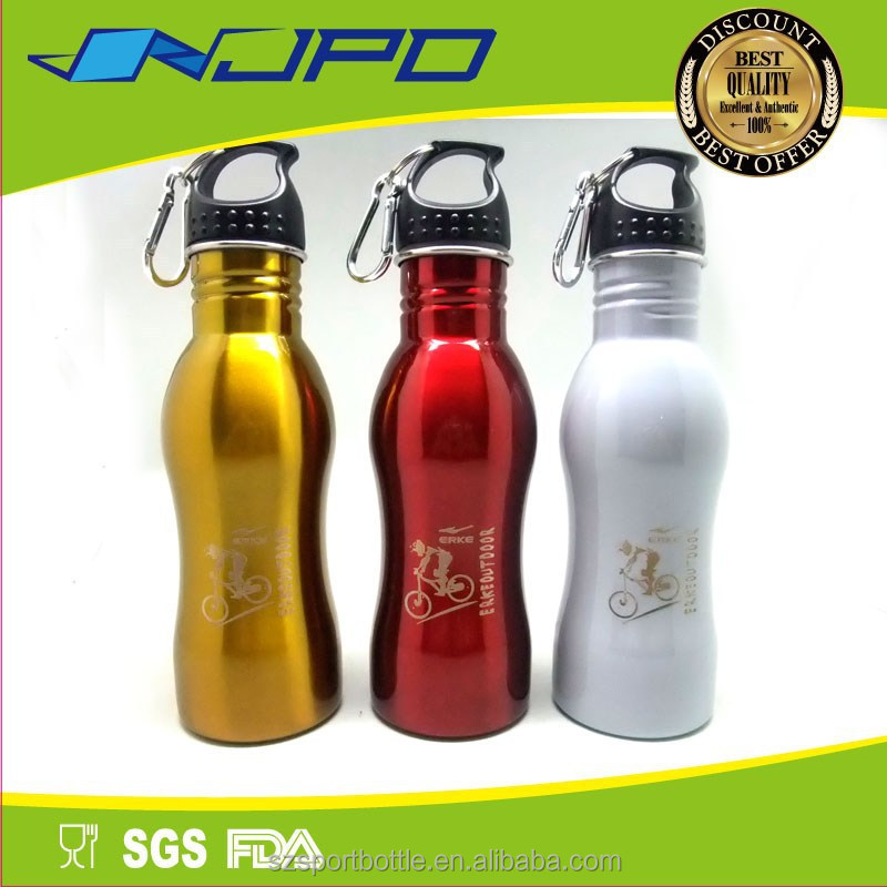 Gourd Shaped Lead Free Azo Free EU Standard 500ml Water Bottle Stainless