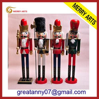 "Alibaba China New 3ft 36"" wooden toy soldier nutcracker giant statues"
