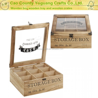 Six Pack Wooden Tea Gift Box