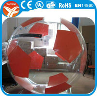 inflatable clear plastic balls