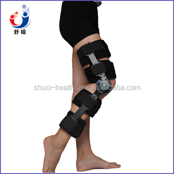 Alibaba Express 2015 Newest Shuci orthopedic ROM Angle Adjustable Knee Hinges Knee Support for Keen Fixation(KT-01E)