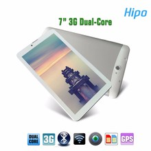 Hipo Cheap GSM 3G GPS Quad Core Dual Sim 7 Inch Android Tablets Smart Phone Call Tablets Mass with Removable Battery