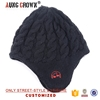 Acrylic knited beanie cap knitting pattern winter ski hats