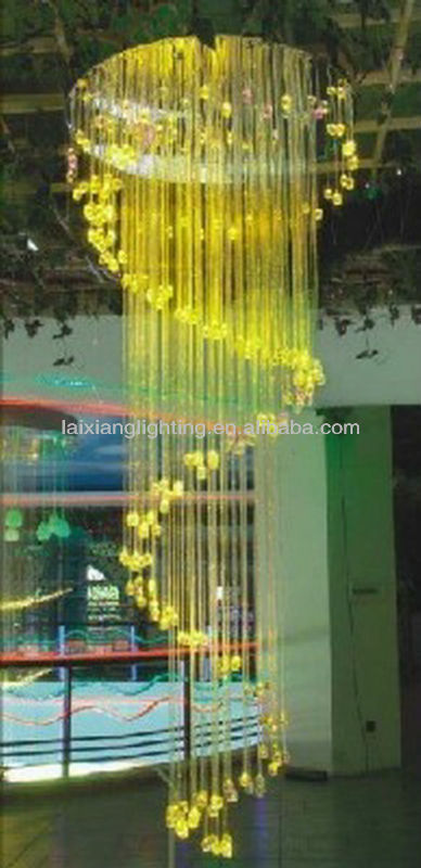 fiber optic art lighting with remote controller