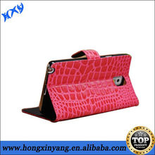 for Samsung Galaxy Note 3 N9000 leather portfolio case ,golden supplier