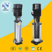 QDL/QDLF stainless steel high pressure water pump centrifugal vertical multistage pump