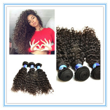 Top hair weaving premium quality 100% virgin hair curly style brazilian remy human hair bundles