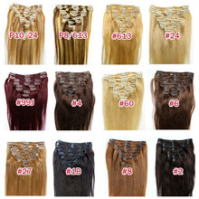 China products free sex clip-in human hair extensions