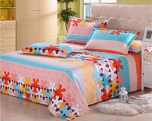 Microfiber polyester printed bedsheet/bedding/mattress/quilt fabric--Chinese fabric